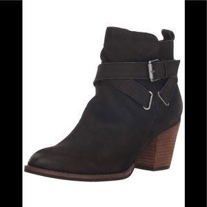 Sam Edelman Morris boot in black suede sz 7.5 $58